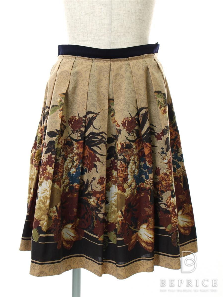ロイスクレヨン スカート 花柄