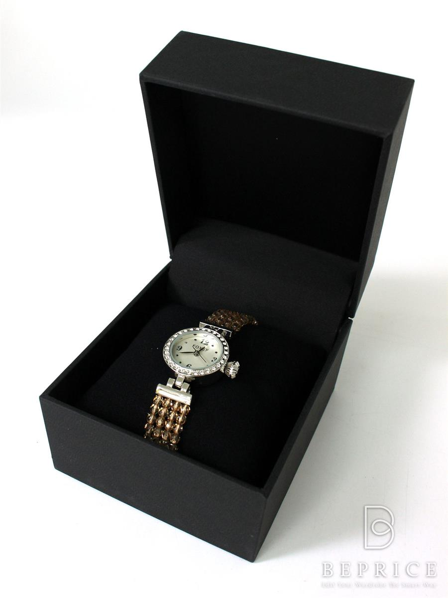 フォクシー 腕時計クオーツ 2016年 時計 ジュエルウォッチ シルバー