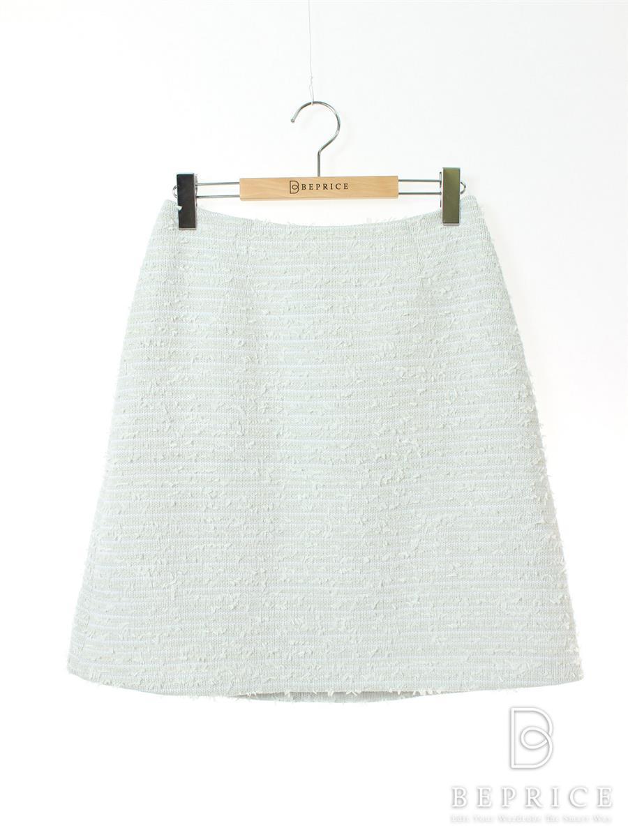フォクシーブティック スカート Gray Tweed