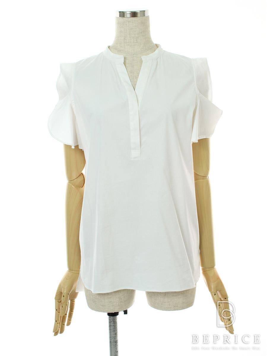 ヨーコチャン Tシャツ カットソー トップス フリル袖