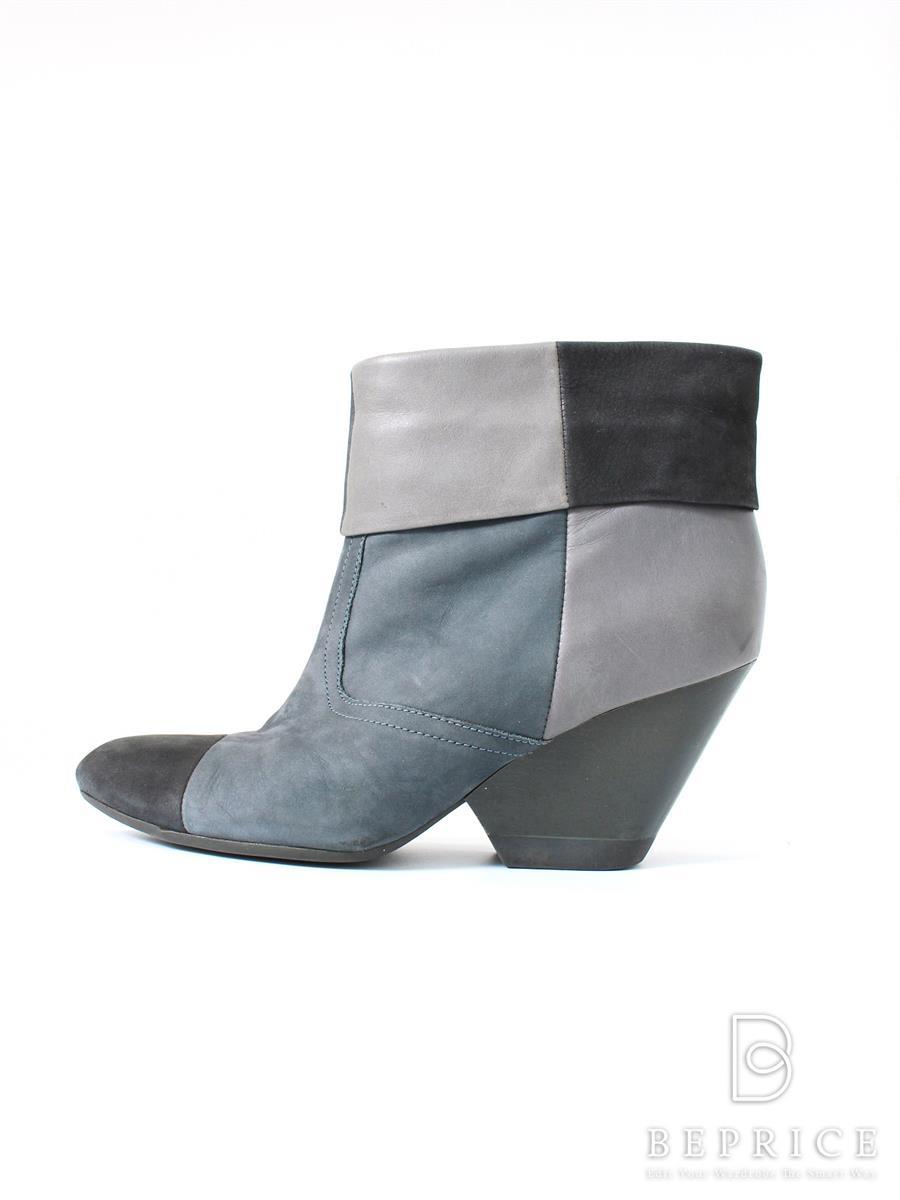 カンペール ブーツ ショート ブーティー 色褪せ・スレあり