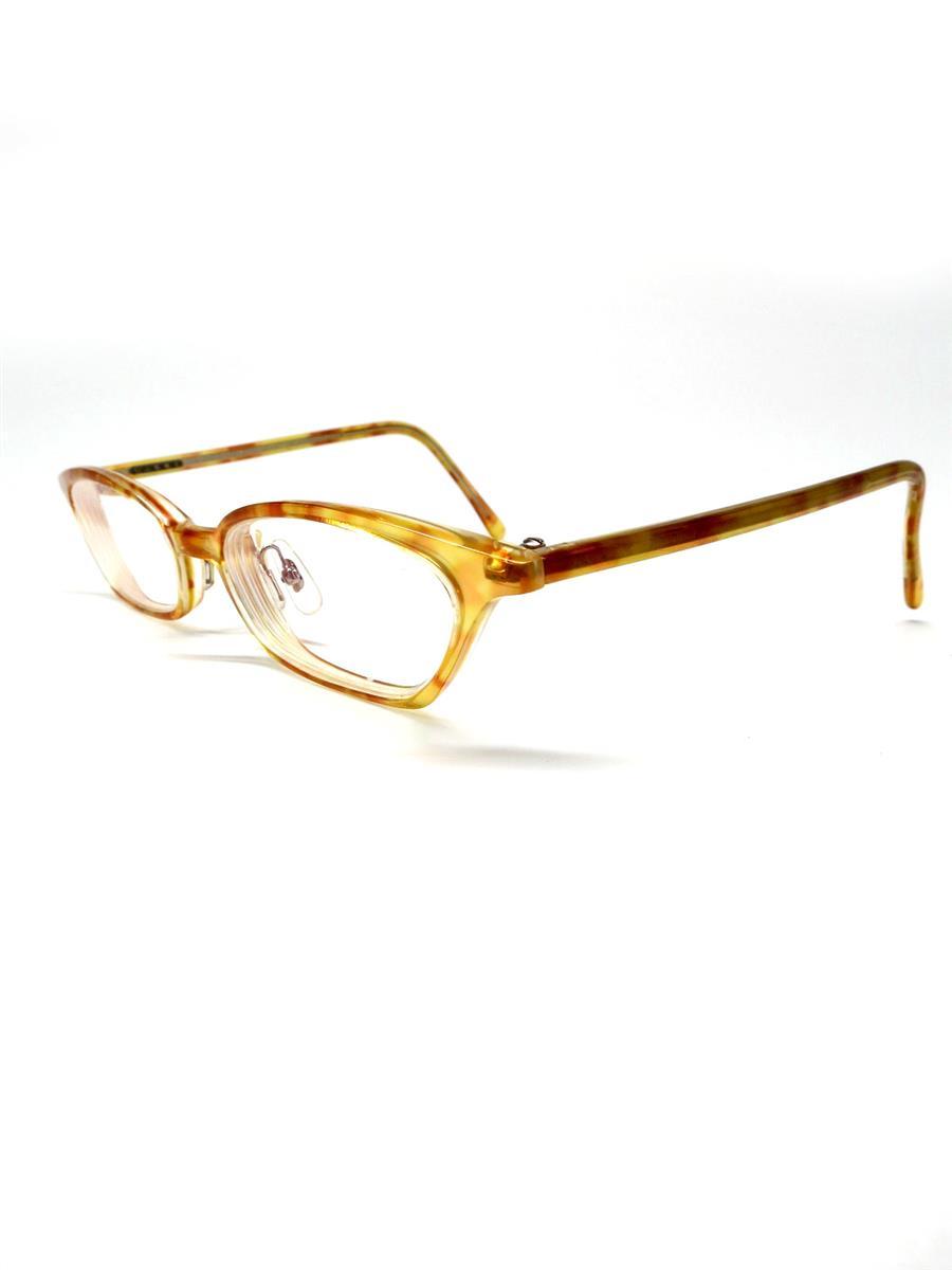 白山眼鏡店 眼鏡  メガネフレーム イエロー
