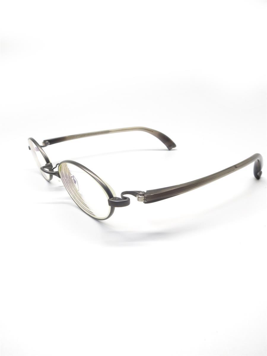 フォーナインズ メガネ 9999 フォーナインズ 眼鏡 メガネフレーム オーバル メタル スレあり