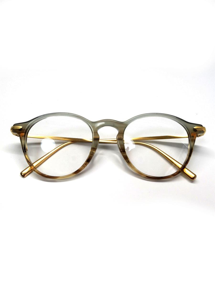 エナロイド メガネ EnaLloid エナロイド 眼鏡 メガネフレーム ウェリントン グラデーション サーモント