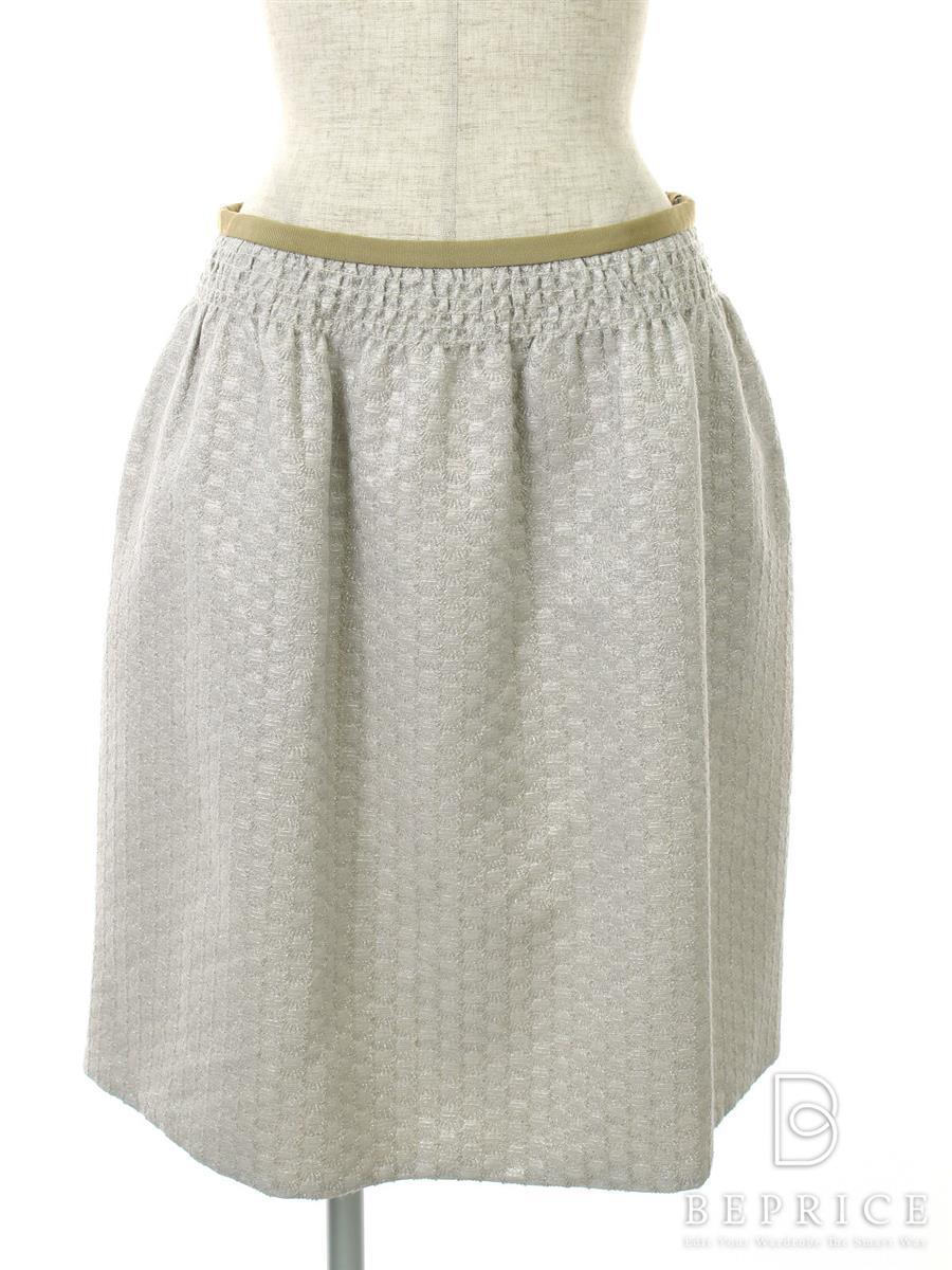 ドゥロワー スカート 刺繍 フレアー
