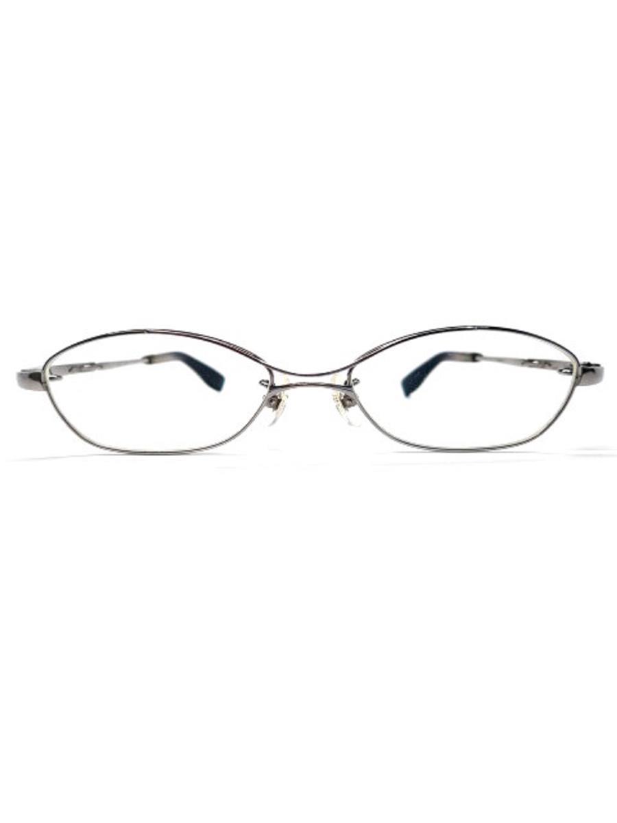眼鏡 メガネフレーム ダブルブリッジ チタン