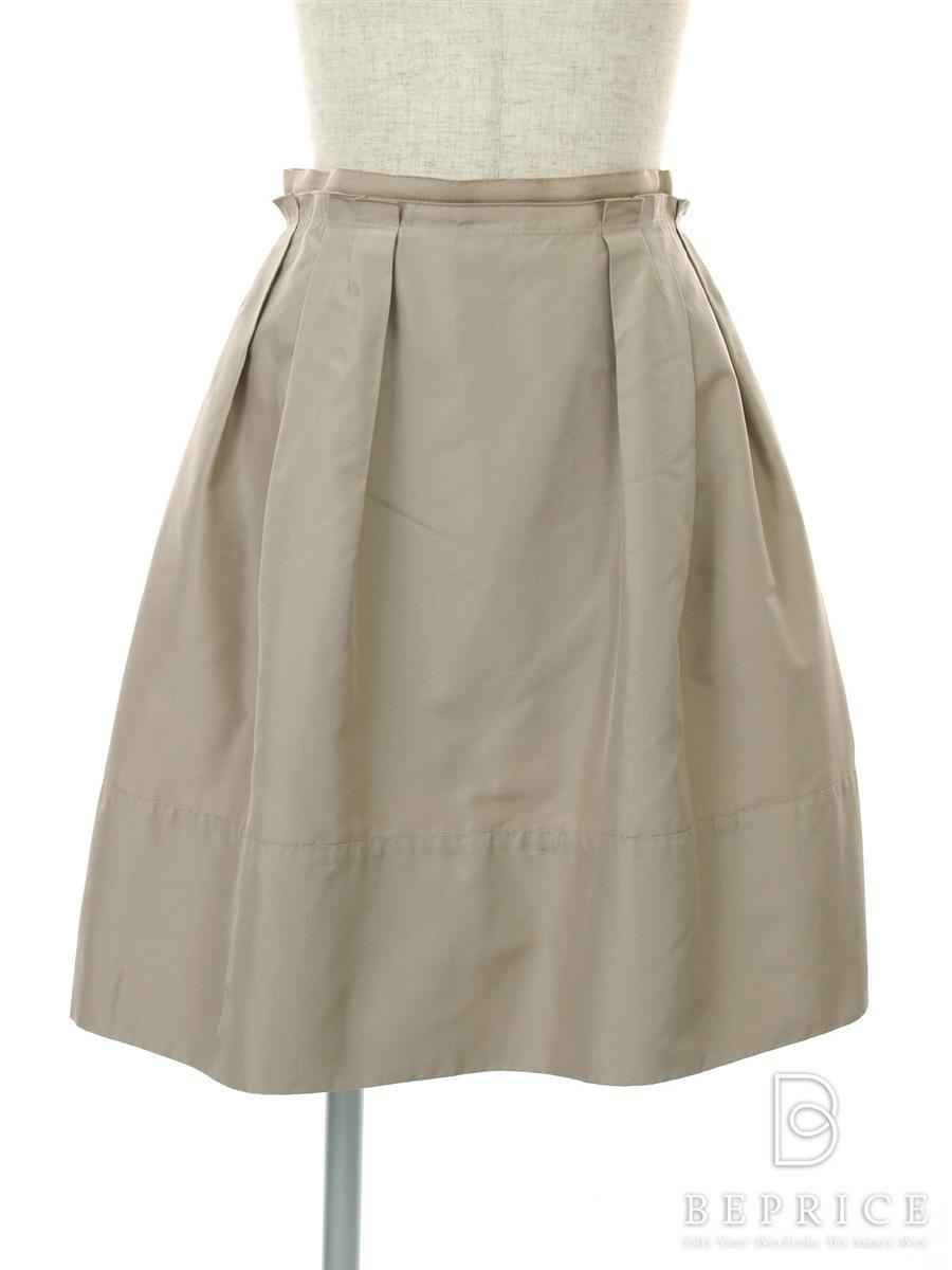 フォクシーブティック スカート シルク グログラン