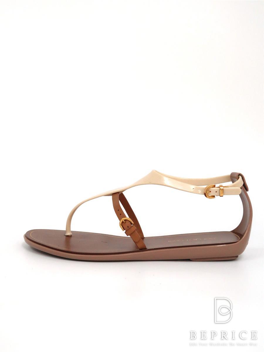 セルジオロッシ サンダル 靴 サンダル フラット 薄汚れあり