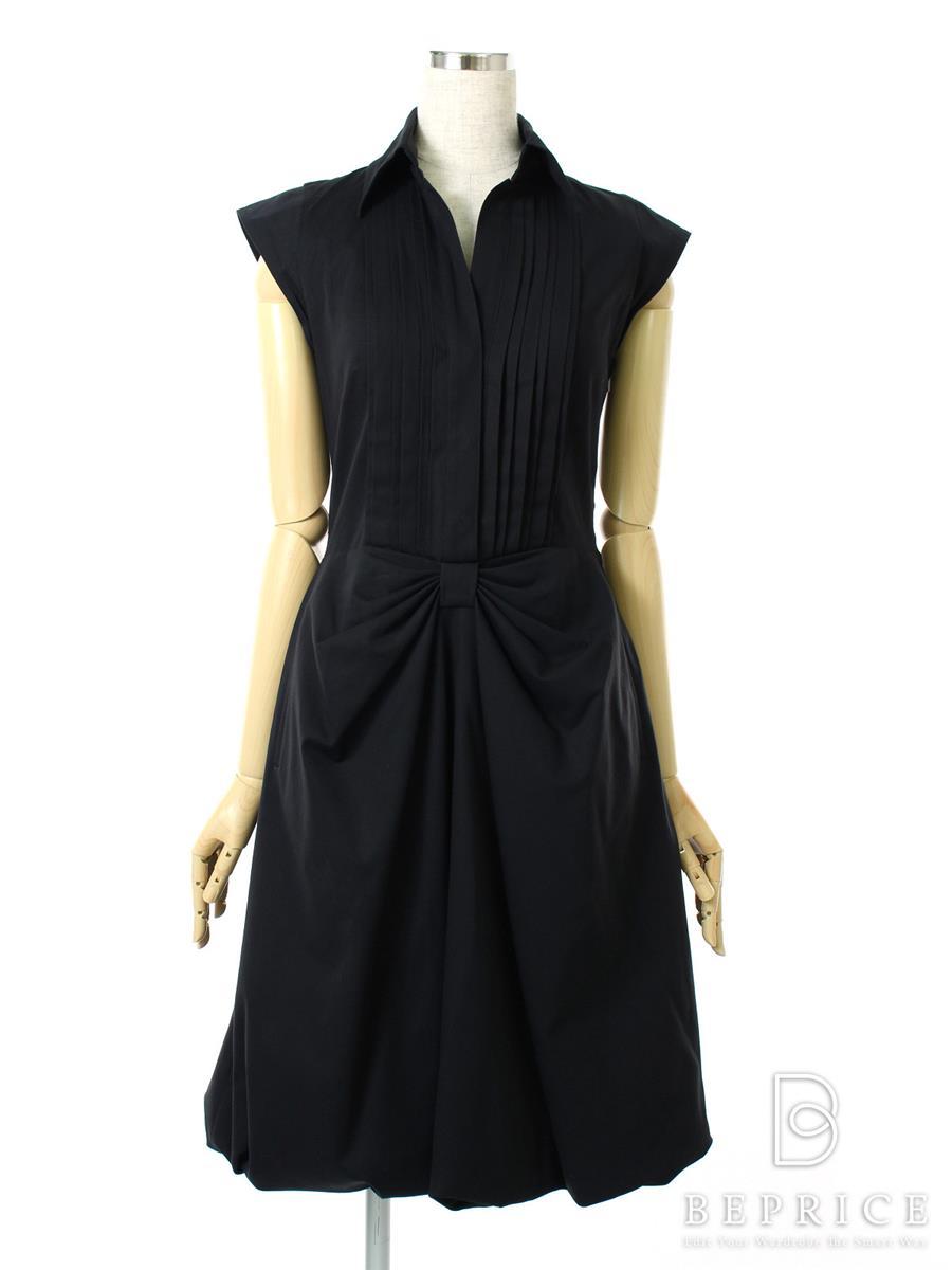 フォクシーブティック ワンピース ワンピース バルーン 衿付 25004