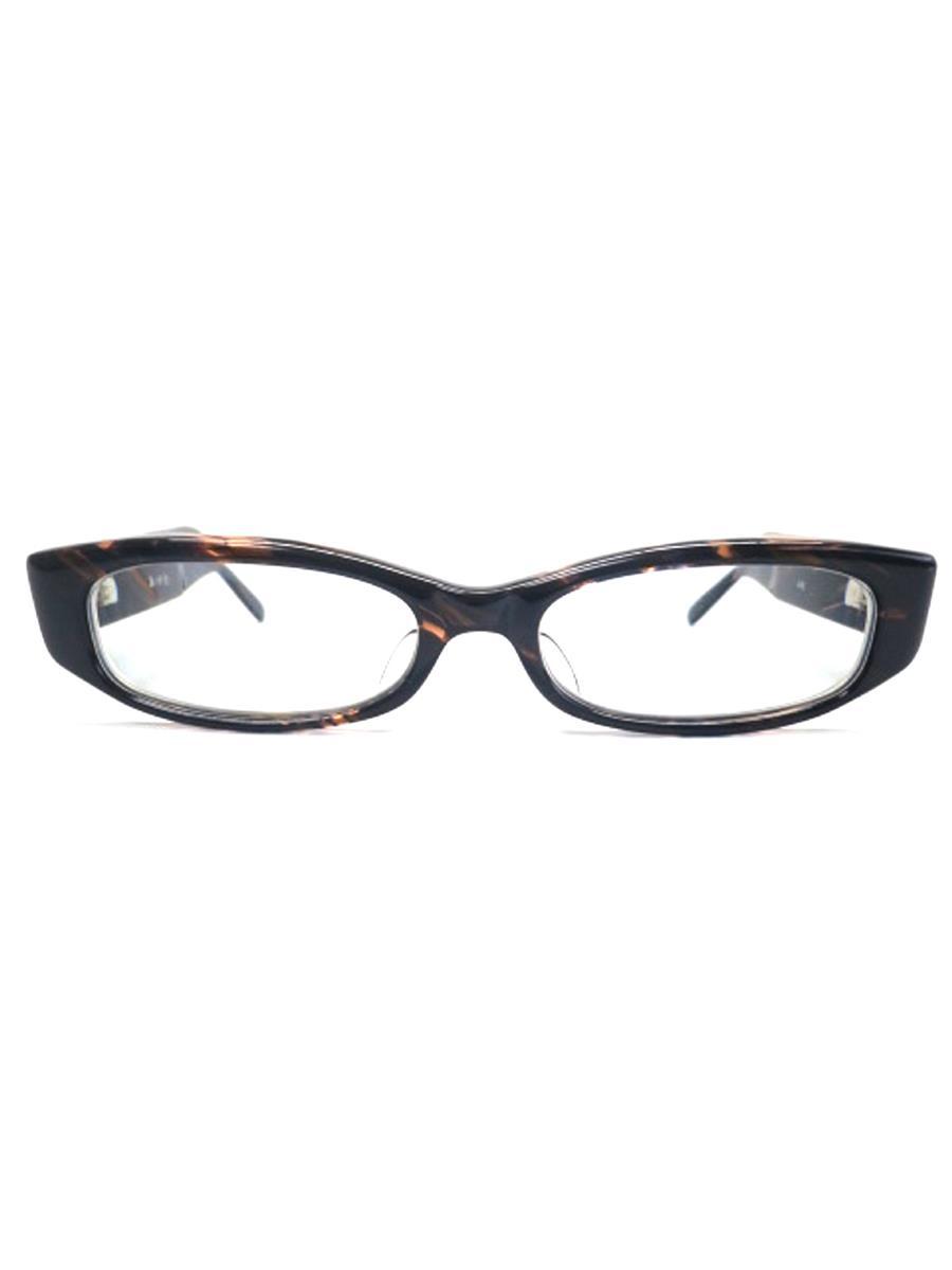 眼鏡 メガネフレーム ブラウン