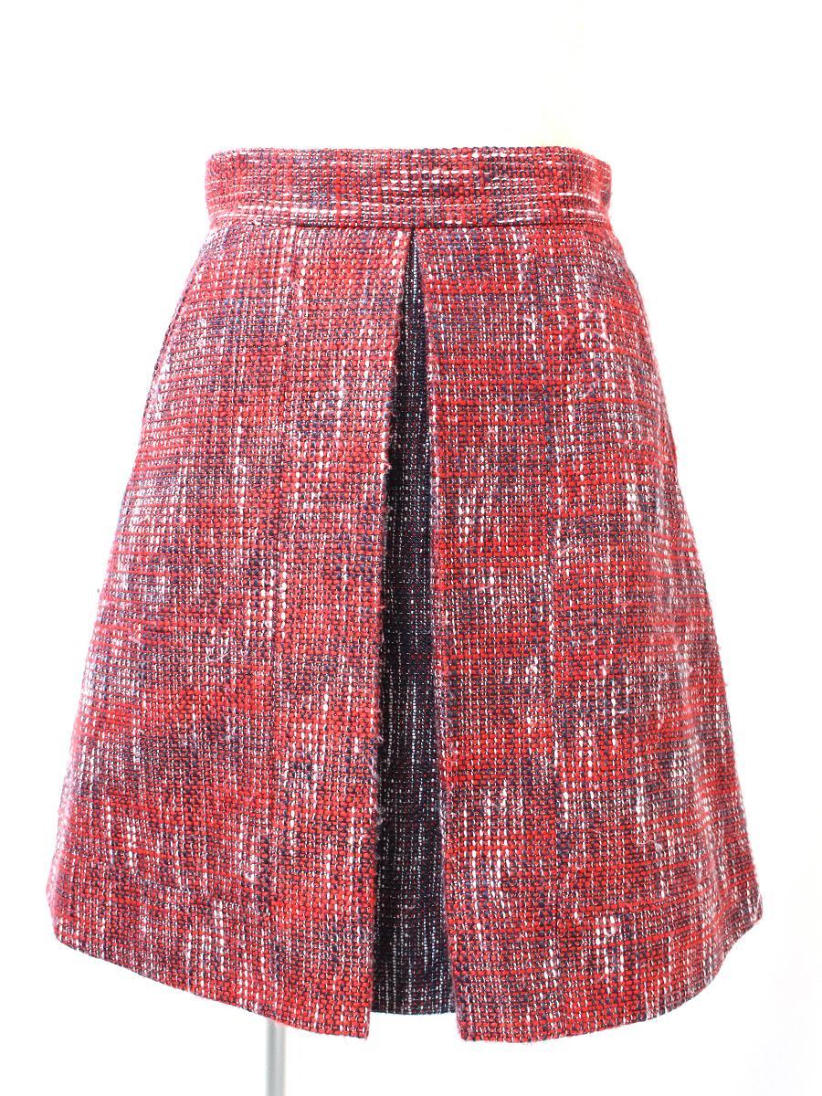 フォクシーニューヨーク Collection スカート ツイード COLLECTION 若干毛羽立ちあり