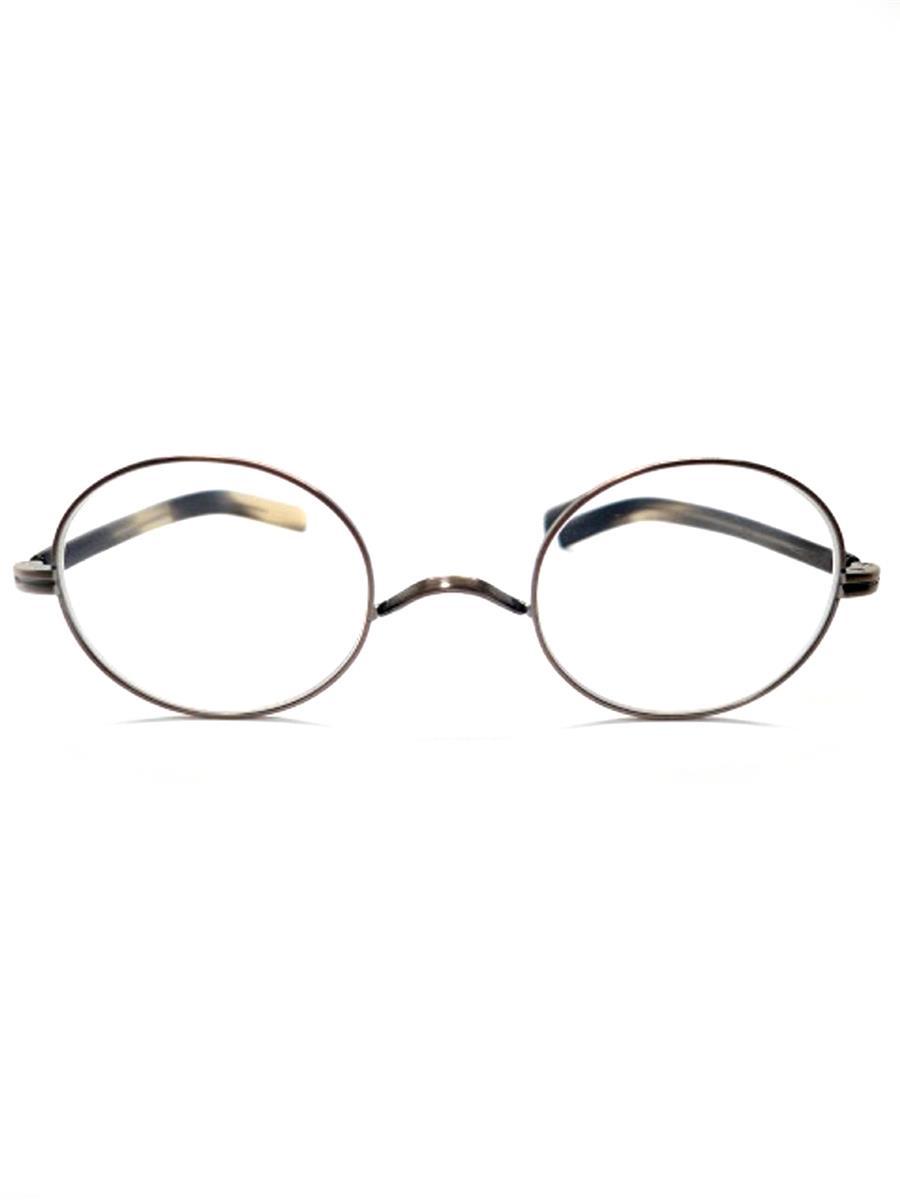 金子眼鏡 メガネフレーム 恒眸作 グレー