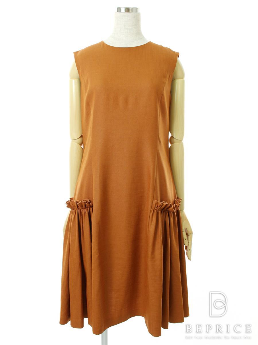 フォクシーニューヨーク ワンピース Stretch Linen Dress 36618