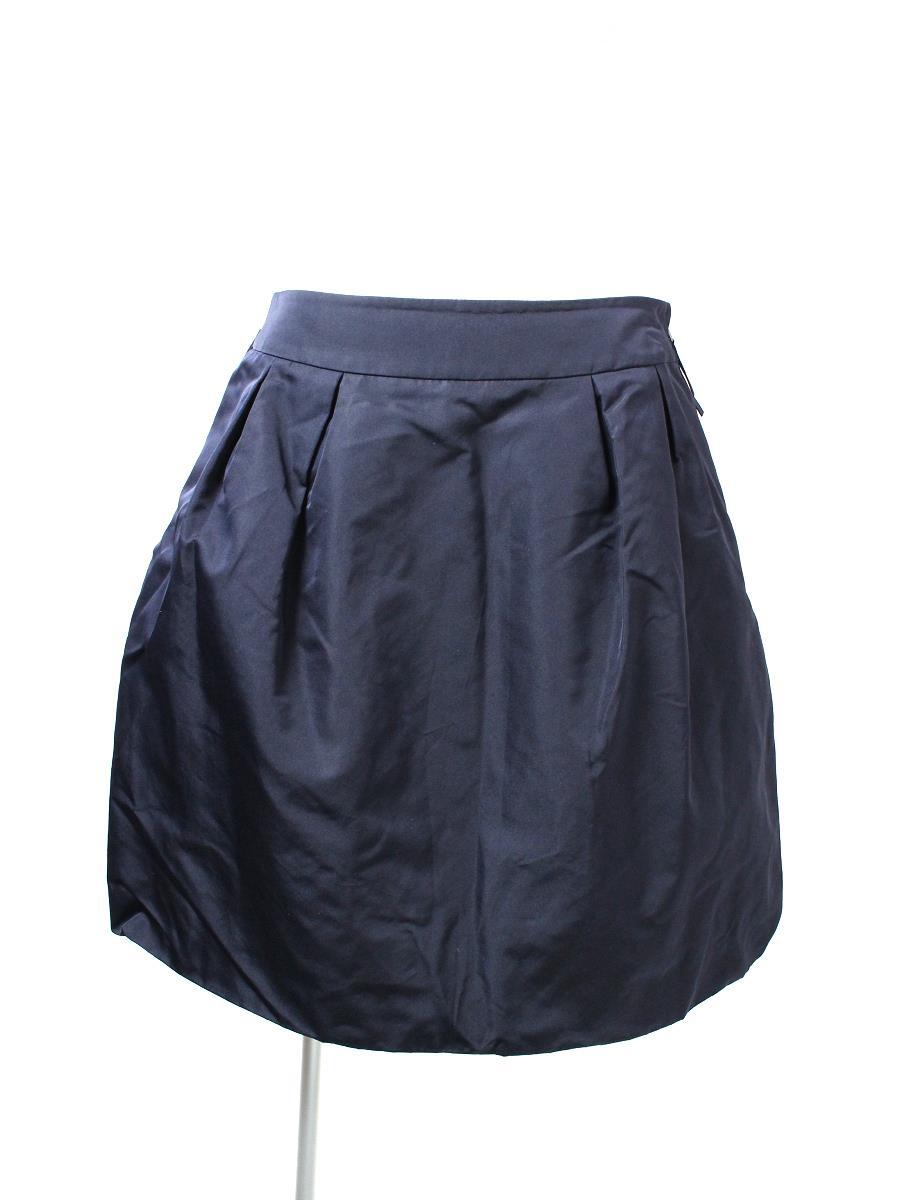 フォクシーニューヨーク スカート スカート 2フェイス シルク 26654