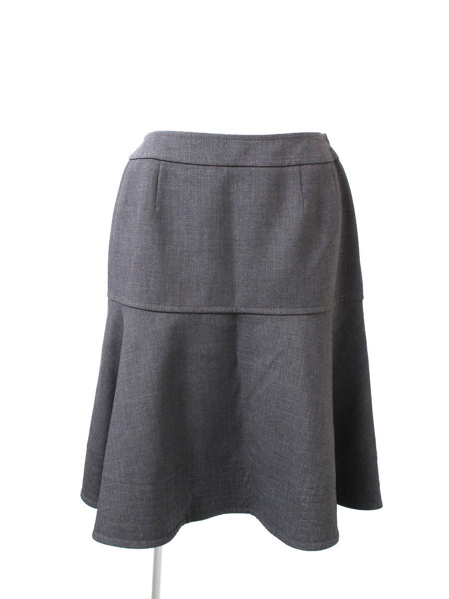 ルネ スカート スカート フレアー 切替