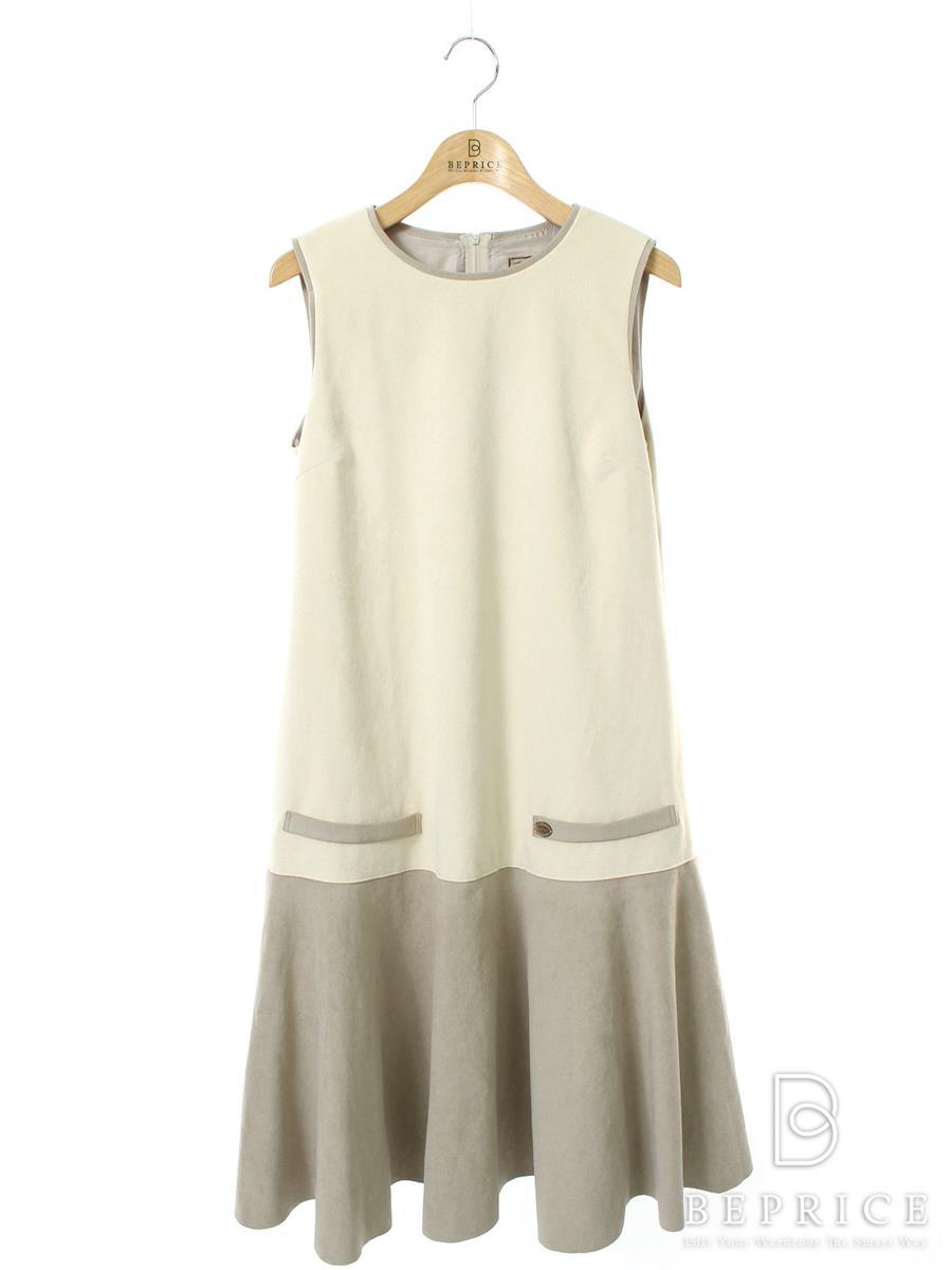 デイジーリン for フォクシー ワンピース ワンピース Daisy Suede Dress 薄シミあり 36347