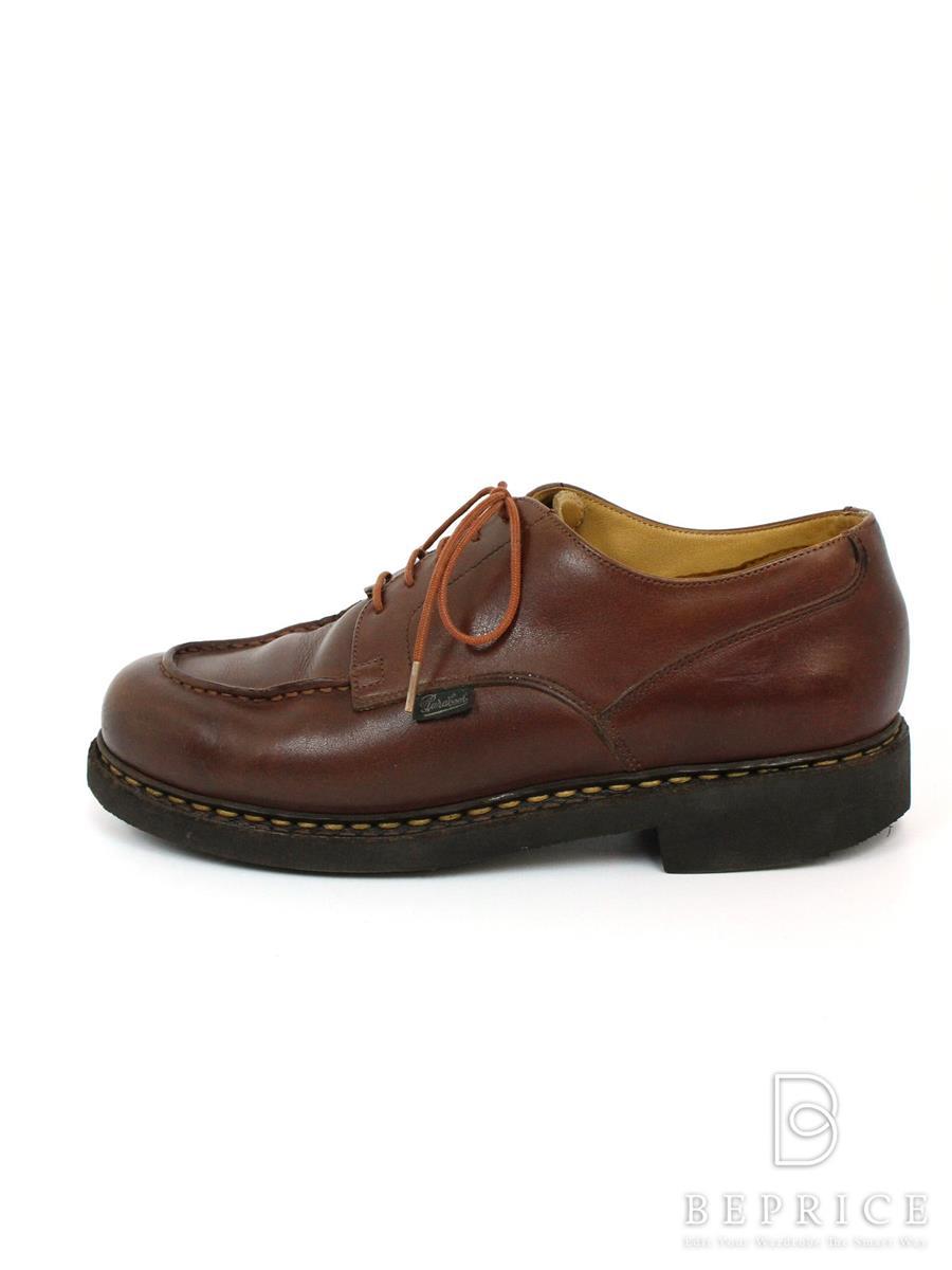 パラブーツ Paraboot パラブーツ 靴 シューズ シャンボード Uチップ 目立つ汚れあり