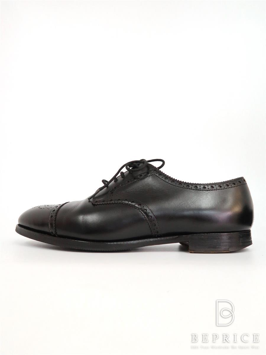 エドワードグリーン 靴 シューズ カーディフ Cardiff ソール変色汚れあり