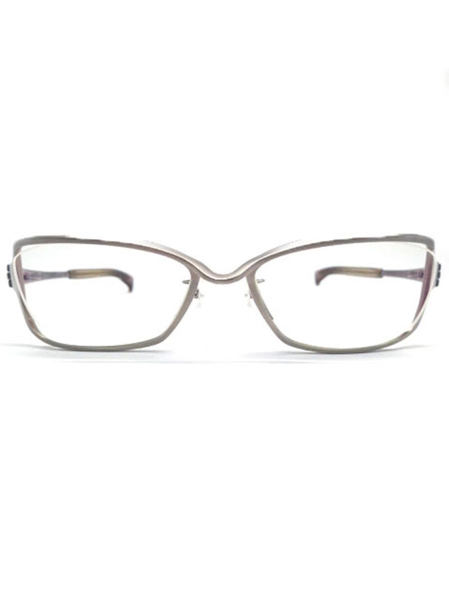 フォーナインズ 眼鏡 メガネフレーム TITANIUM フレームゴム部分にやや劣化あり