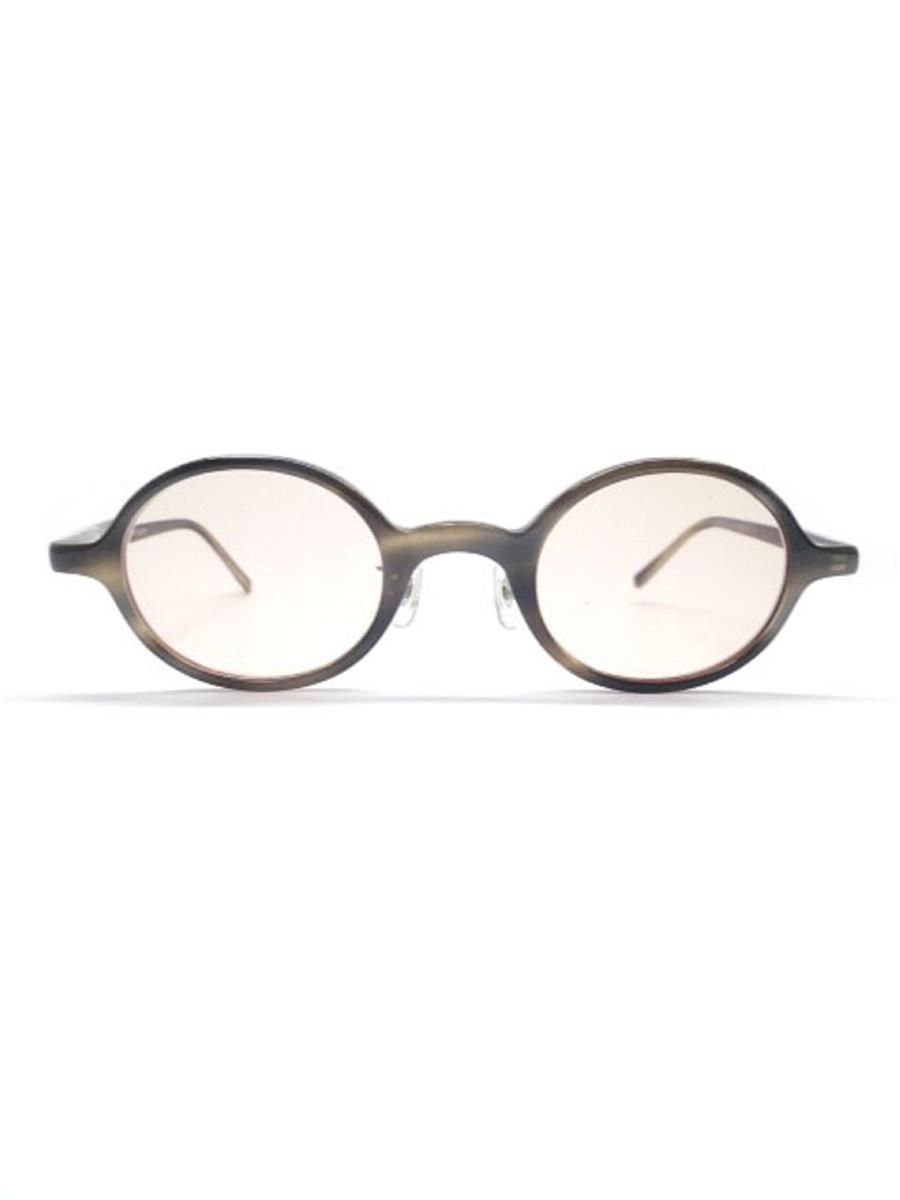 金子眼鏡 メガネフレーム 丸 刻印薄れあり