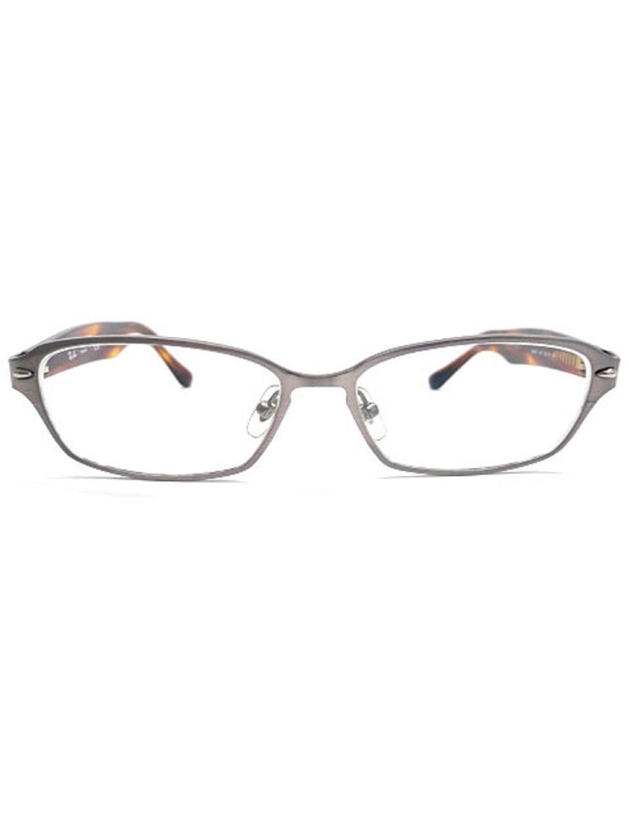 レイバン 眼鏡 メガネフレーム TITANIUM べっ甲柄 【55□15 140】