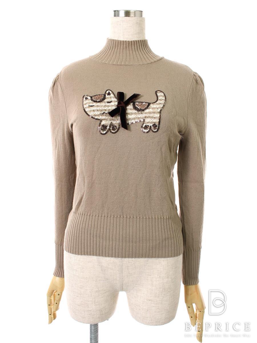 エムズグレイシー Tシャツ カットソー トップス 長袖 猫柄