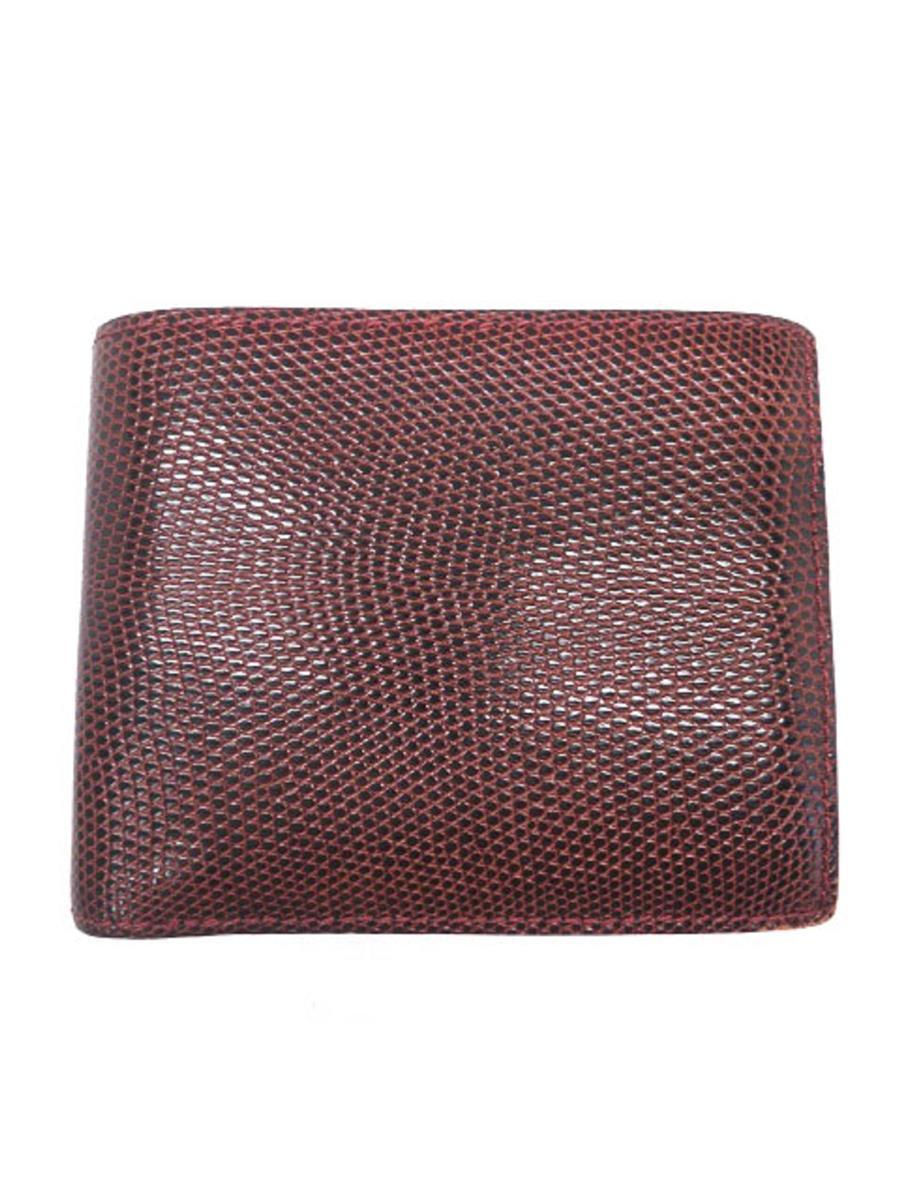 カミーユフォルネ 財布 Camille Fournet カミーユフォルネ 財布 二つ折り リザード 角擦れ等あり