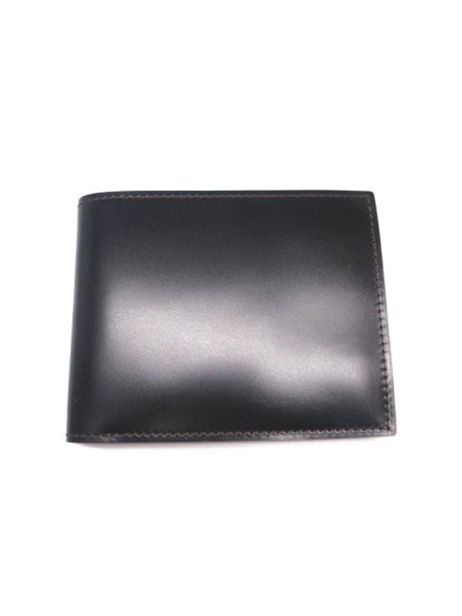 ガンゾ 財布 GANZO ガンゾ 財布 二つ折り コードバン スレあり
