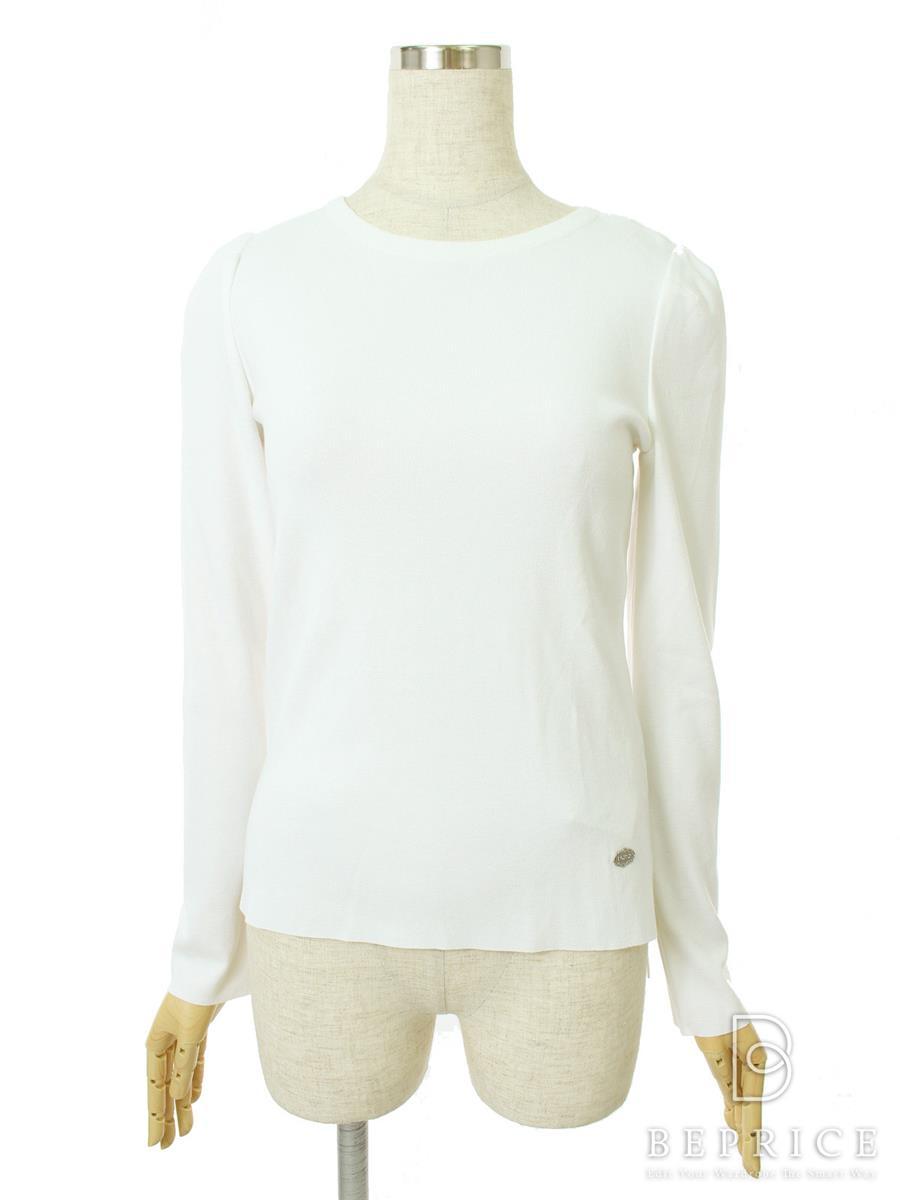 フォクシーブティック Tシャツ カットソー トップス SLIM SWEATER 35309