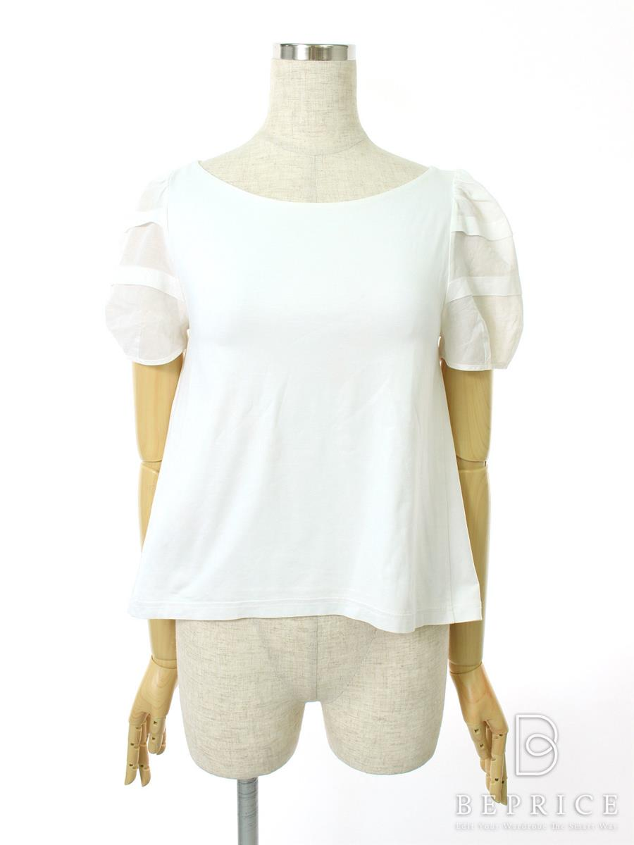 フォクシーニューヨーク Tシャツ カットソー トップス Daisy T-Tops 薄変色あり 30928