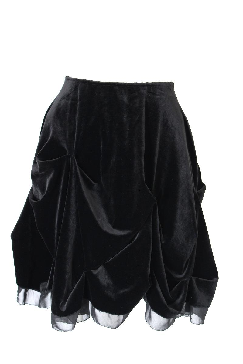 ベロアノワール by フォクシーニューヨーク スカート スカート スプラッシュベロア 32228