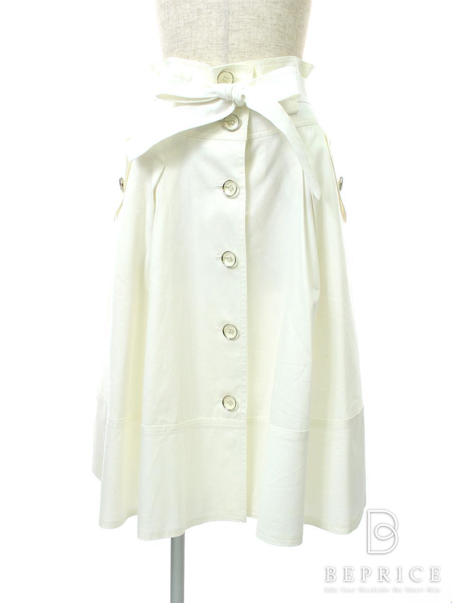 エムズグレイシー スカート スカート フロントボタン やや色あせあり