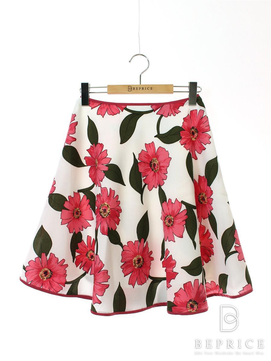 エムズグレイシー スカート スカート フレアー 花柄