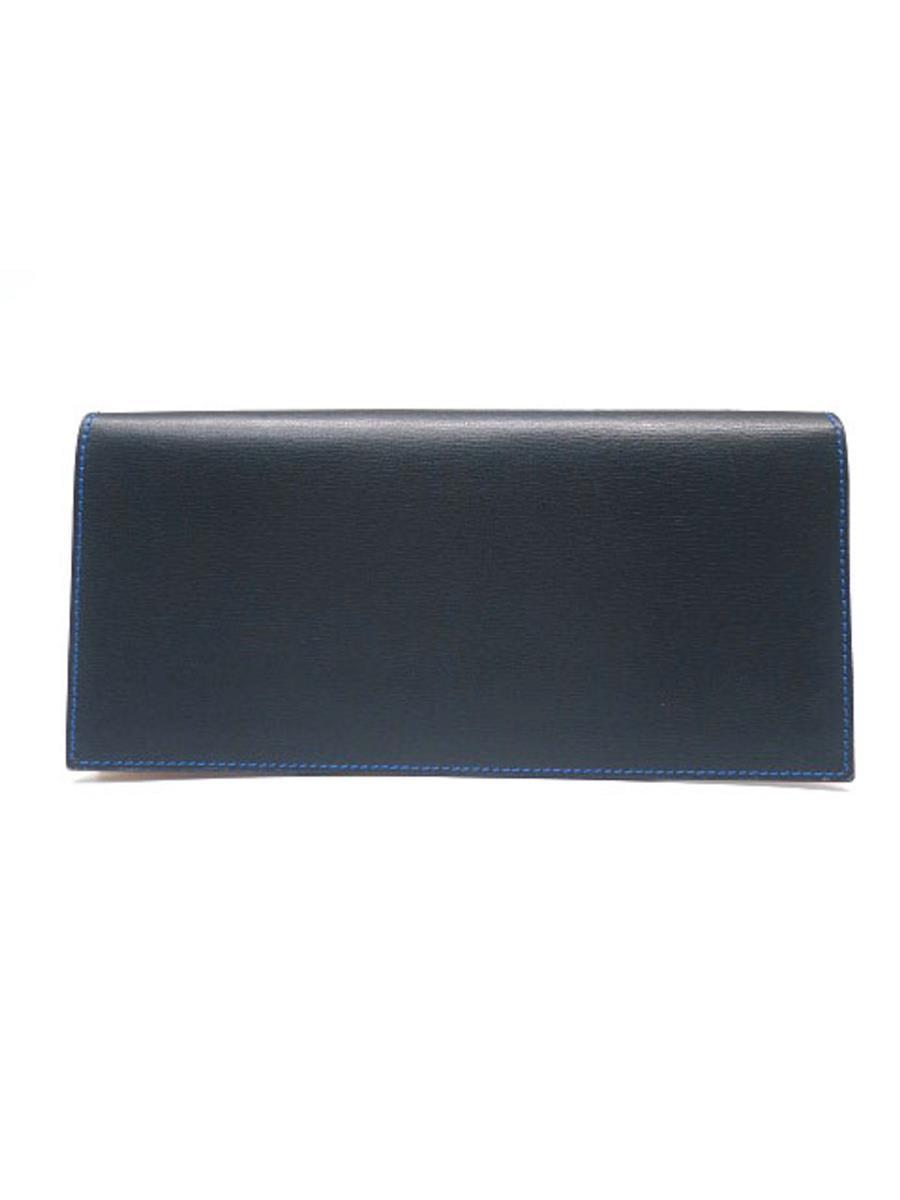 ファーロ 長財布 二つ折り フィンカーフ 小銭入れに汚れあり