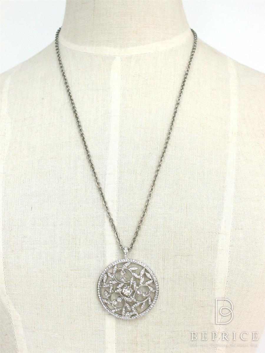 フォクシーブティック ネックレス Rhinestone Necklace