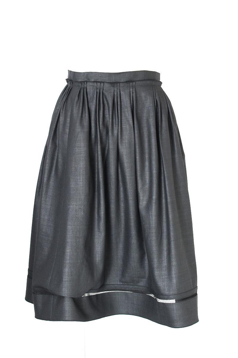 フォクシーニューヨーク スカート サマーブリーズ 編地ライン部分に糸ツレあり