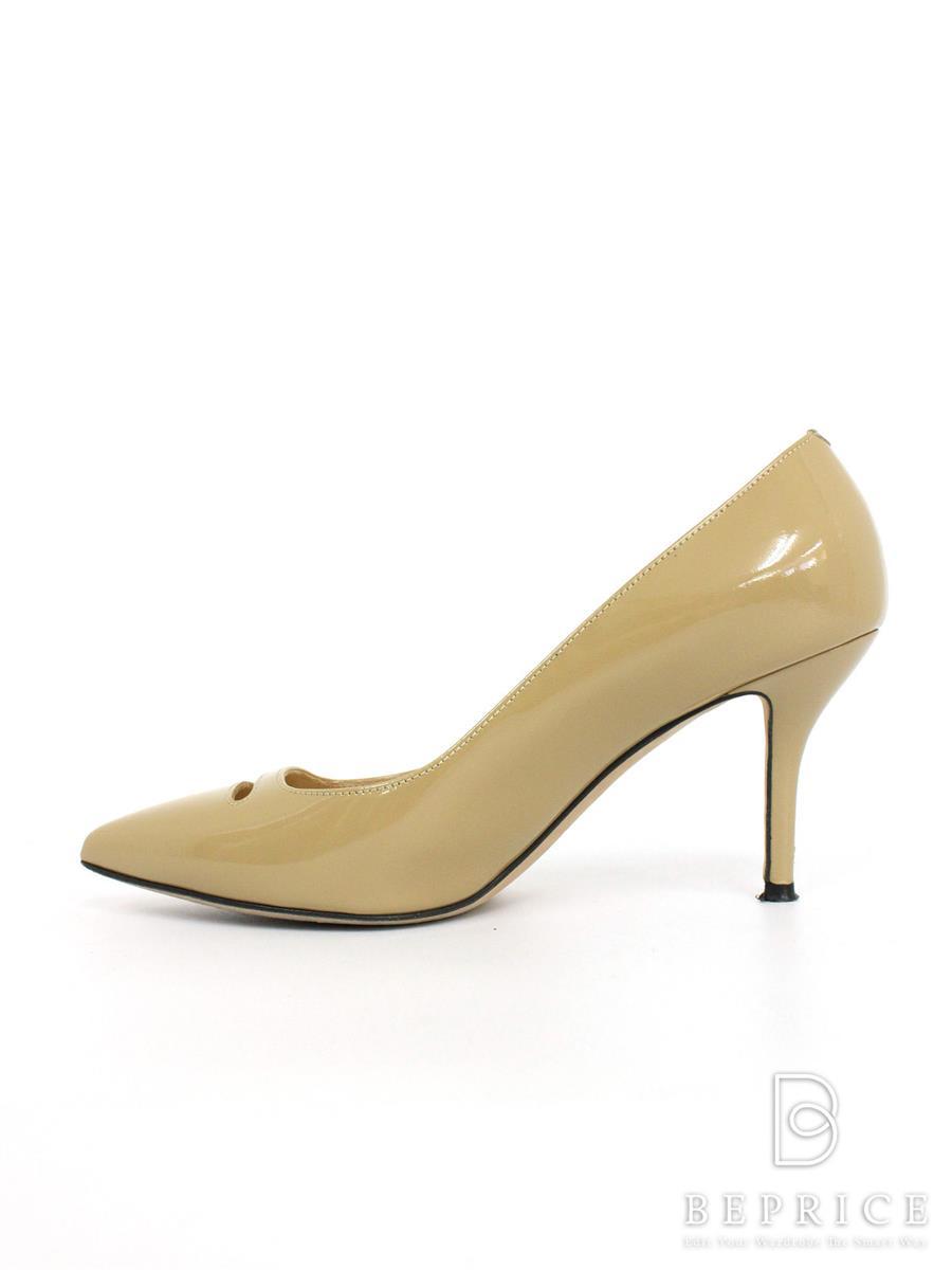 ペリーコ パンプス PELLICO ペリーコ 靴 パンプス エナメル 薄汚れ有り
