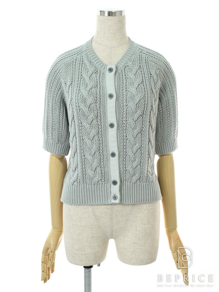 フォクシーニューヨーク Collection カーディガン Baby Cable Sweater Cardigan Collection