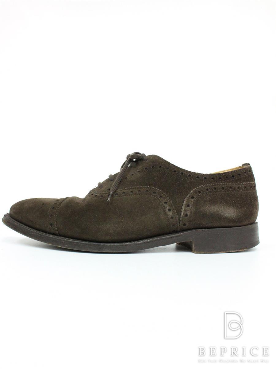 チャーチ Churchs チャーチ 靴 シューズ Perth スエード スレ汚れあり