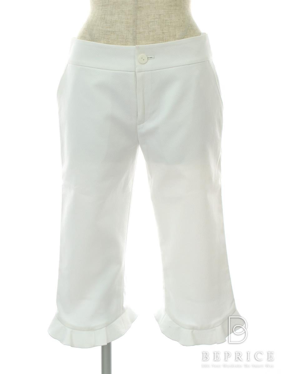 フォクシーブティック パンツ マーメイド 薄色あせあり