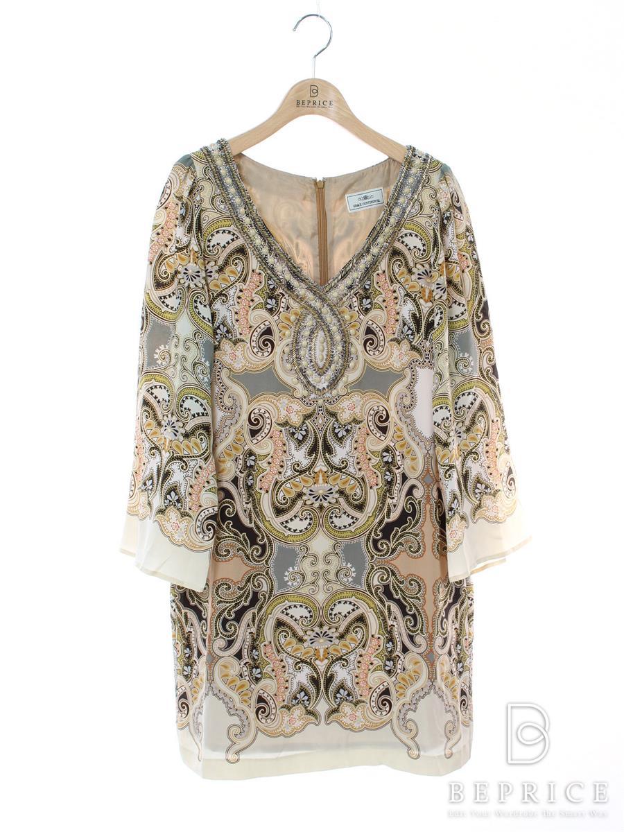 グレースコンチネンタル ワンピース 長袖 装飾