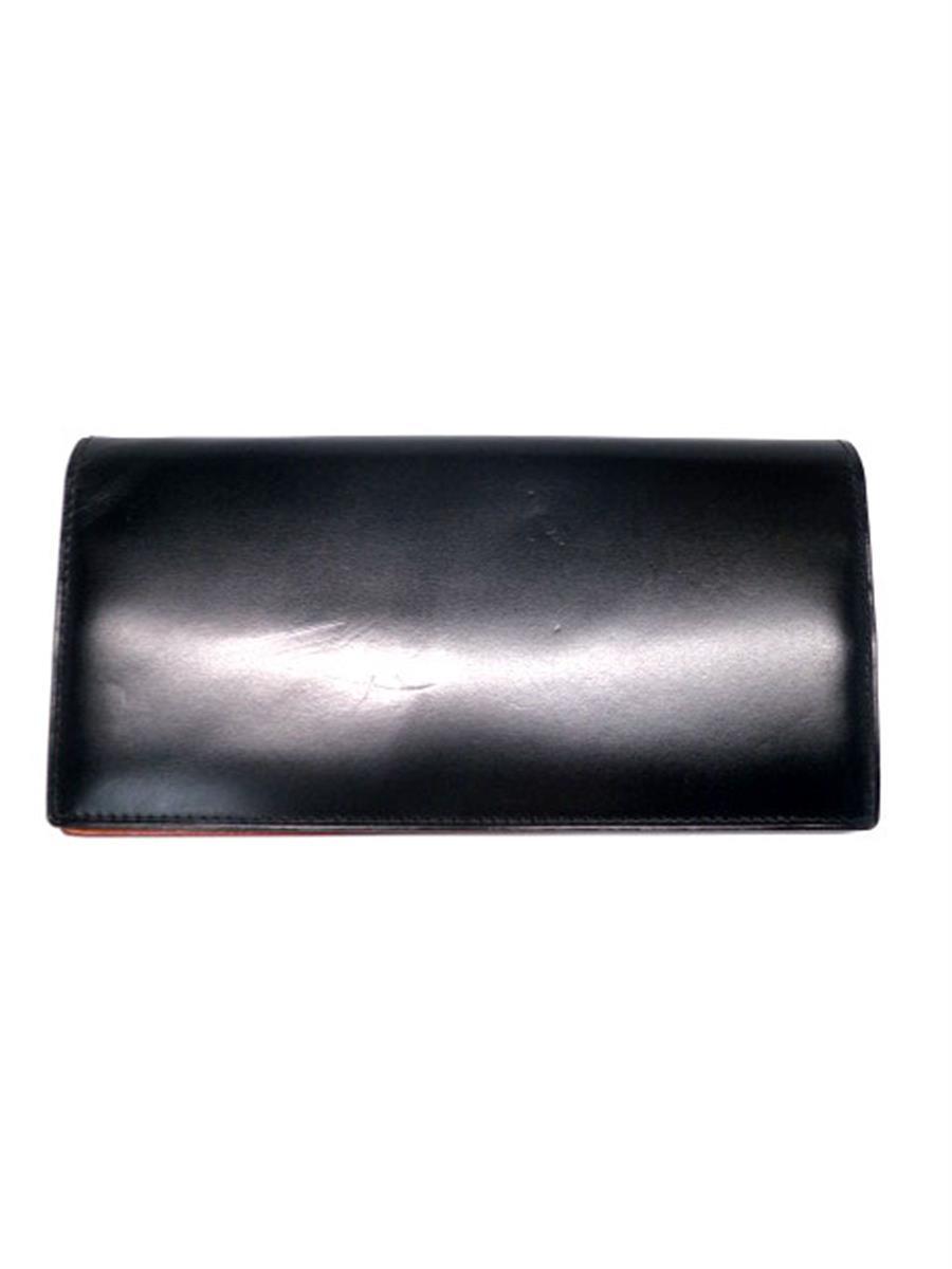 ガンゾ シンブライドル 57604 長財布 小銭入れ付 焼け変色