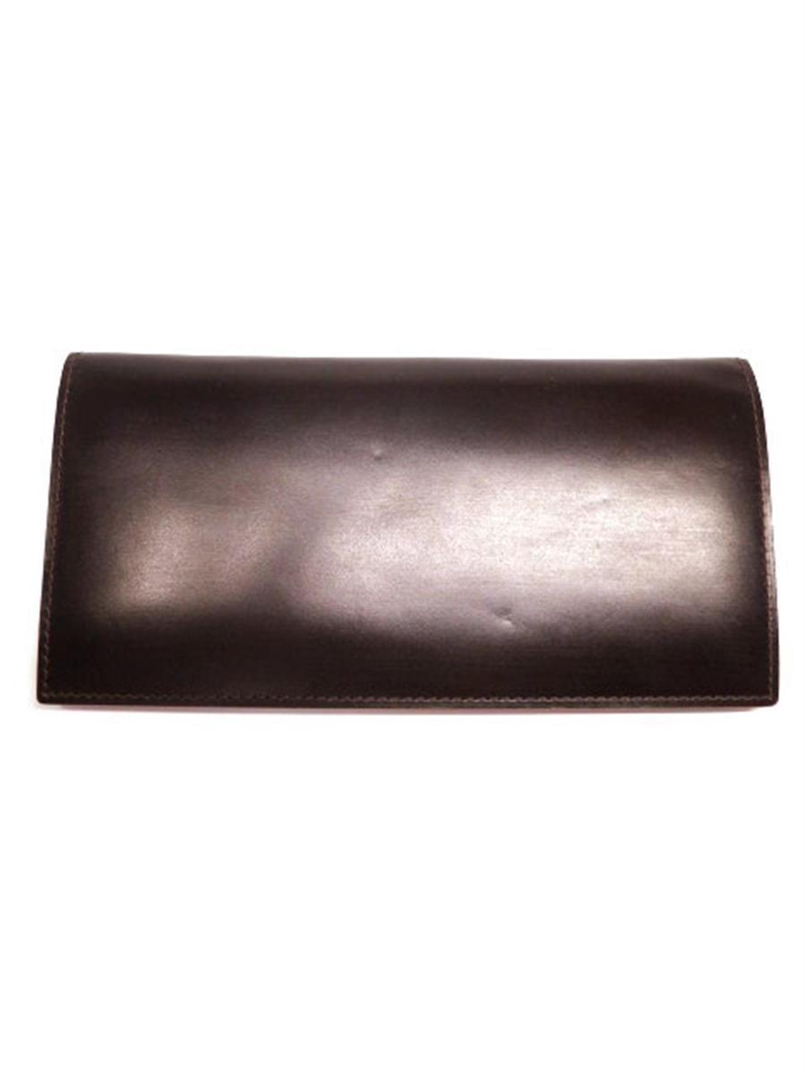 ガンゾ 長財布 コードバン