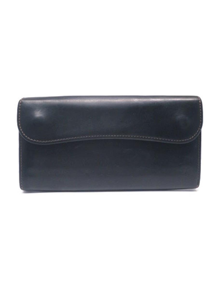 ワイルドスワンズ 財布 WILDSWANS ワイルドスワンズ 長財布 二つ折り WAVE スレ・薄汚れあり