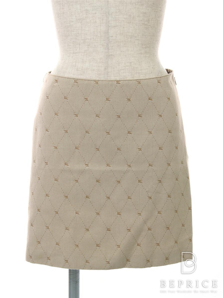 バーバリーブルーレーベル スカート スカート 台形
