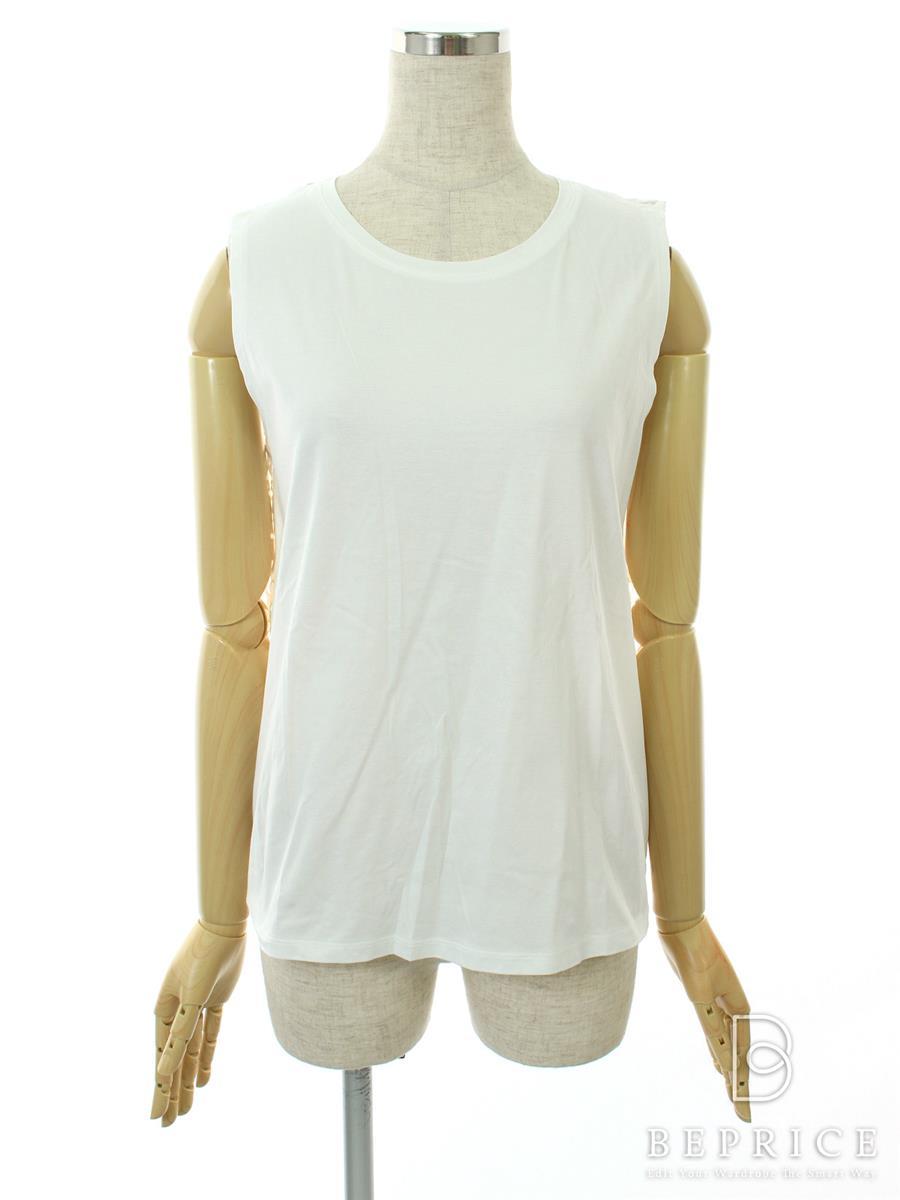 セオリー Tシャツ カットソー トップス ノースリーブ カットワーク 花柄