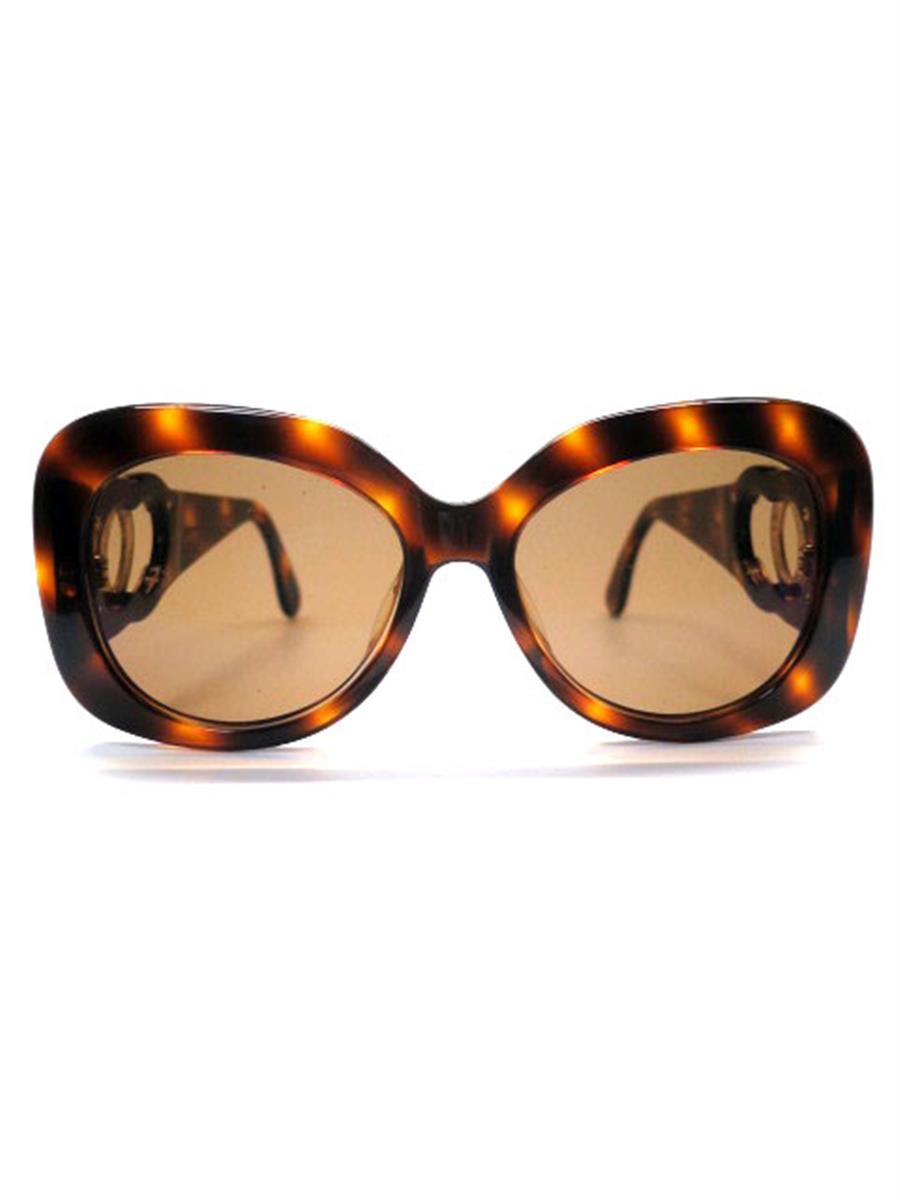 シャネル 眼鏡 メガネフレーム メタル プラスチック部分劣化あり