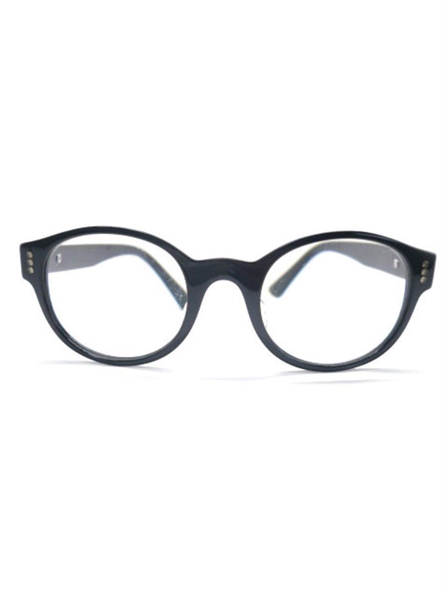 カルティエ 眼鏡 メガネフレーム ボストン ブランド刻印消えあり