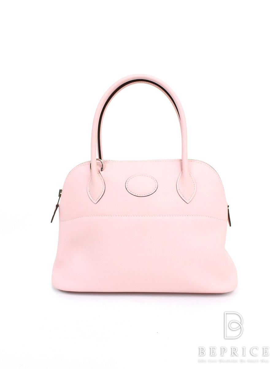 エルメス バッグ ハンドバッグ ボリード27 ピンク