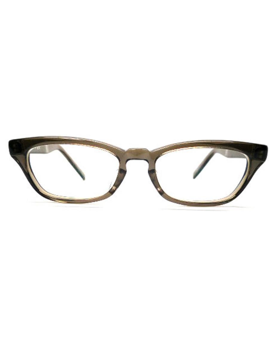 泰八郎謹製 眼鏡 メガネフレーム グレー